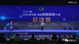 湖南愿景住工在2020年中国•湖南创新创业大赛获得优秀企业奖项